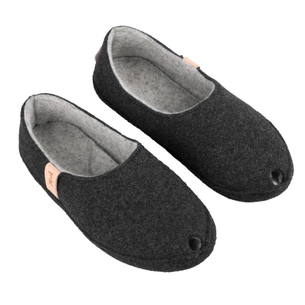 woolen felt slippers, TOKU Budapest