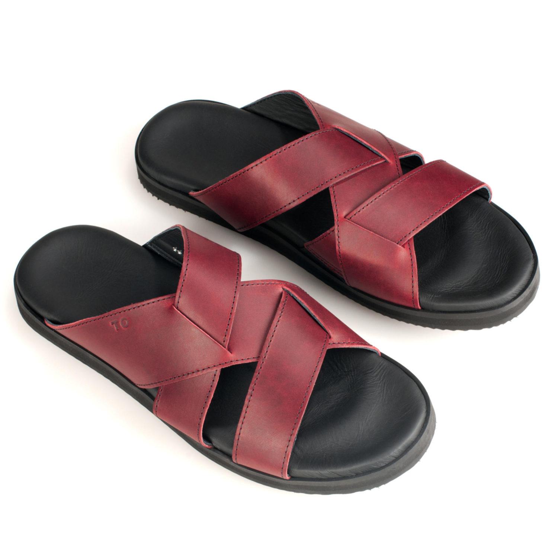 TOKU Helsinki for him bordeaux handmade leather shoes