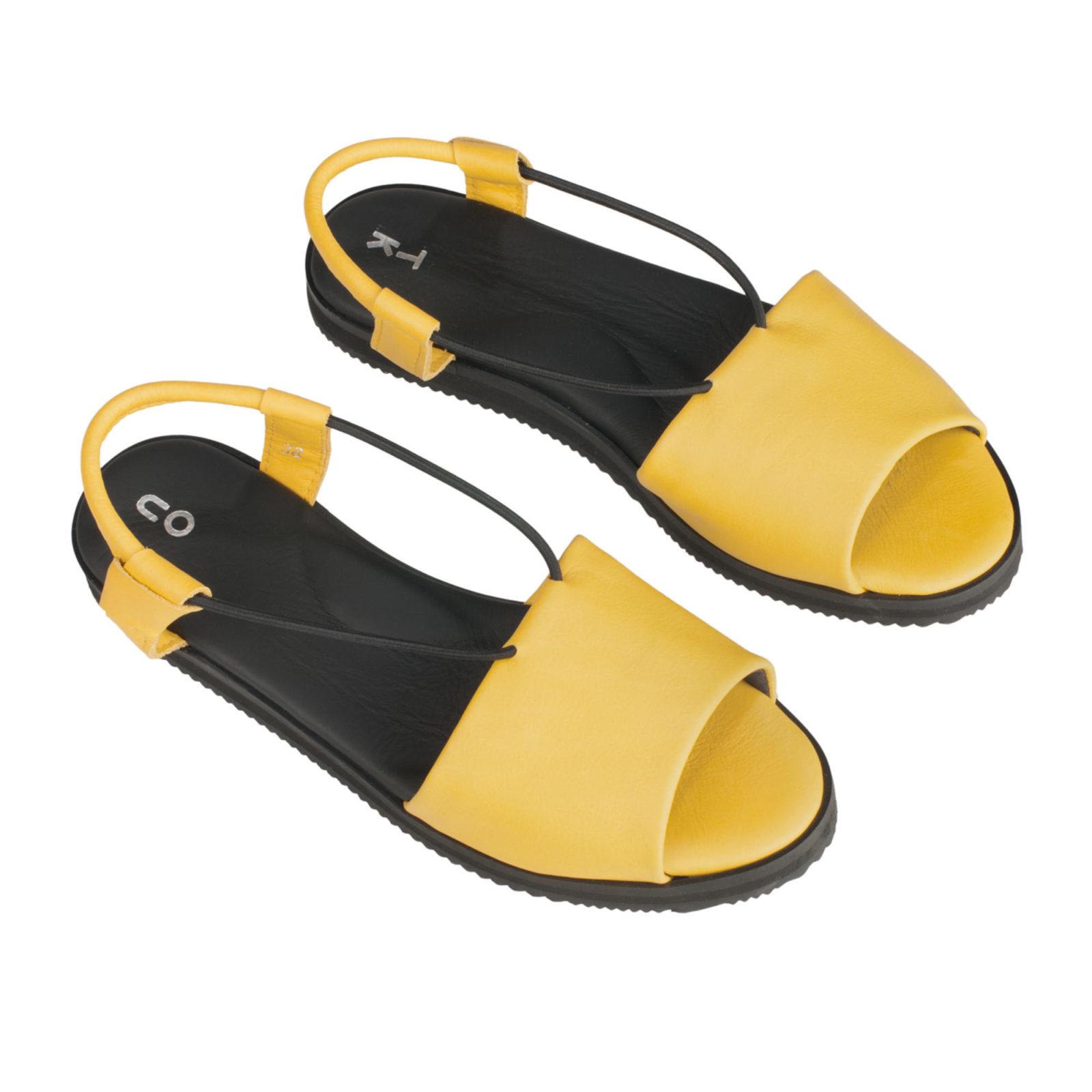 TOKU Berlin yellow shoes