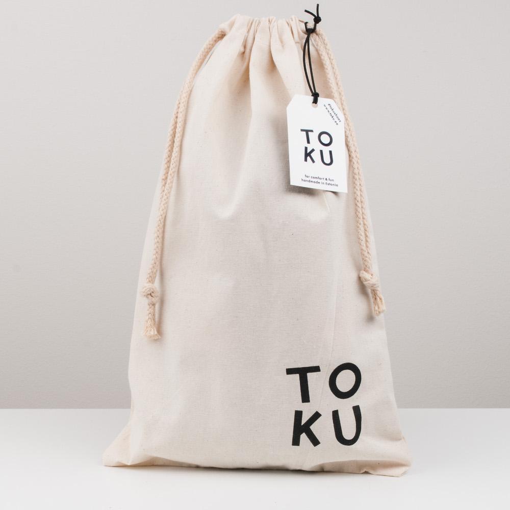Shoebag with TOKU logo