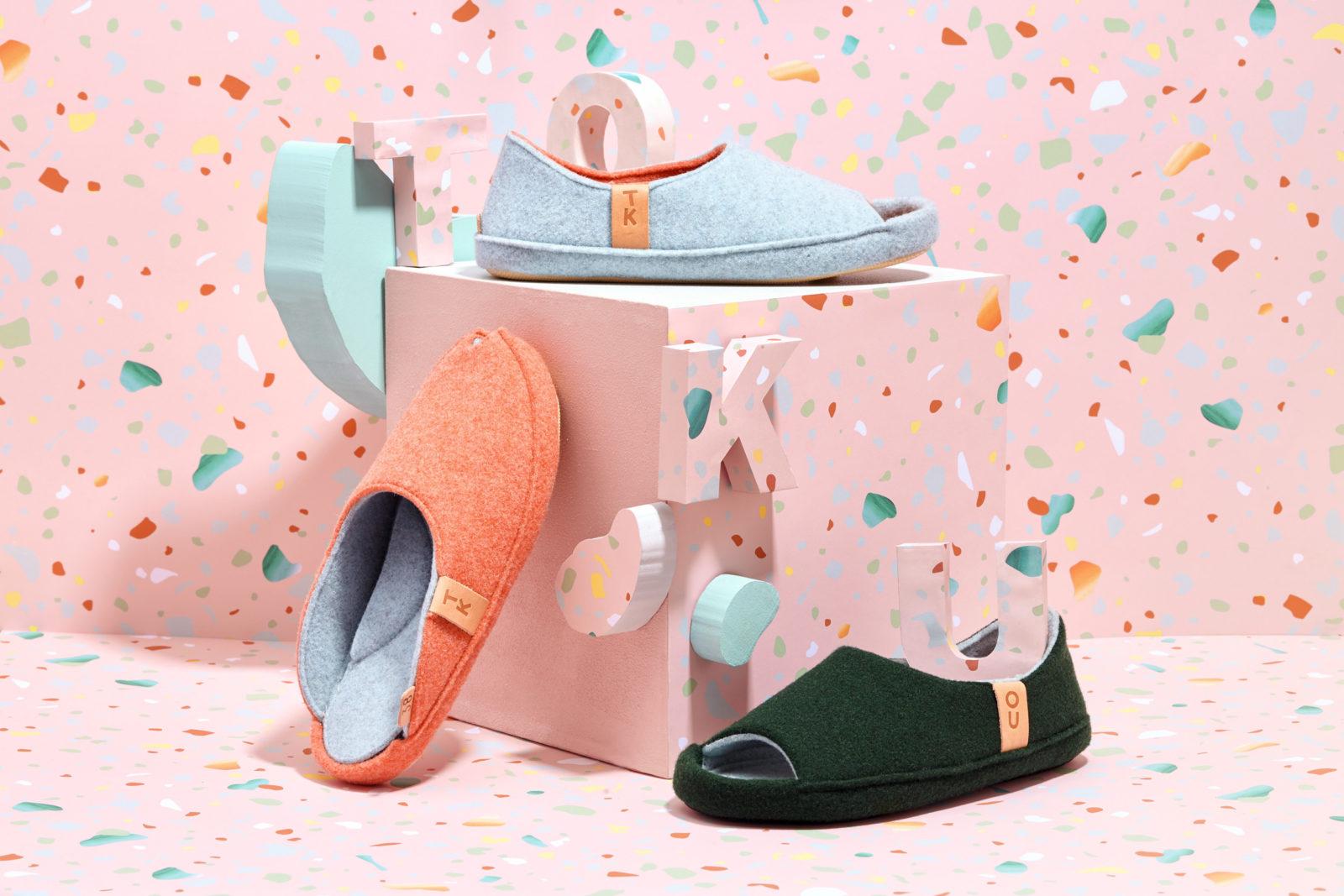 Handmade indoor shoes