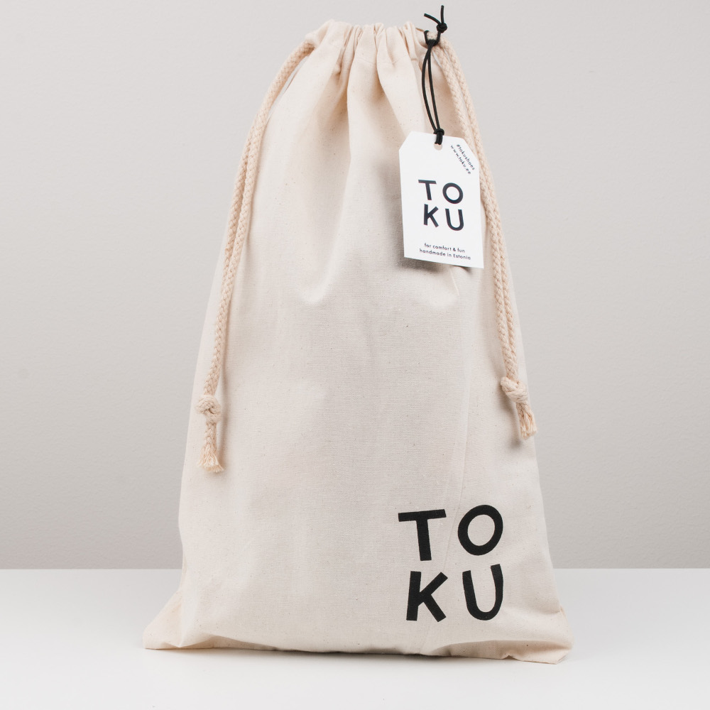 Shoebag with TOKU logo